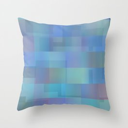 Peaceful Vacation Throw Pillow