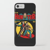 comic iPhone & iPod Cases featuring Hunter Comic by harebrained