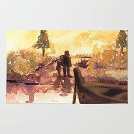 Sunset Lake Rug