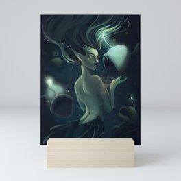 The Anglermaiden Mini Art Print