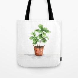 Wicker Planter Tote Bag