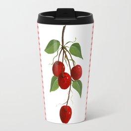 Country Cherries Travel Mug