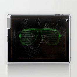 Electro Glasses Laptop & iPad Skin