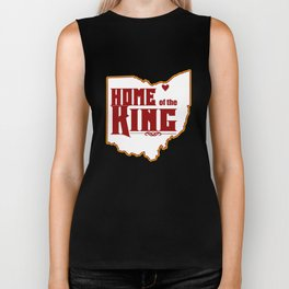 Home of the King (White) Biker Tank