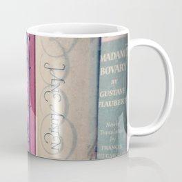 Pink Books Coffee Mug