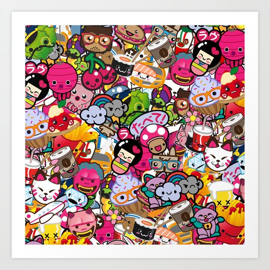 Supercombo #2 Art Print