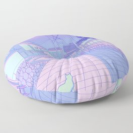 Kyoto Nights Floor Pillow