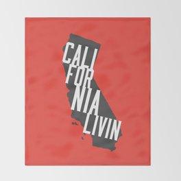 California Livin' by Reformation Designs Throw Blanket