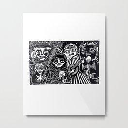 AGUIZOTES Metal Print