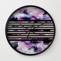 blossom Wall Clocks featuring Blossom // by Georgiana Paraschiv