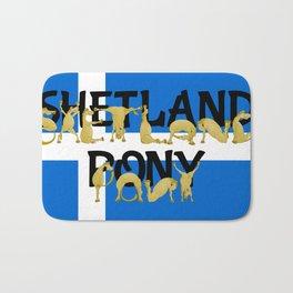 Shetland Pony Bath Mat