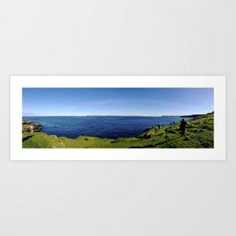 A View of Scotland Art Print