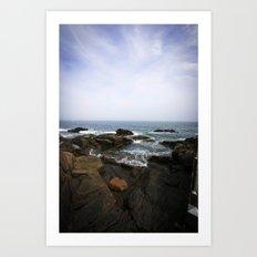 Acadia View - Ocean Scene  Art Print