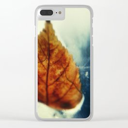 Poetic Winter Clear iPhone Case