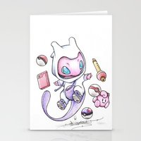 projectrocket Stationery Cards featuring Pokéssentials by Randy C