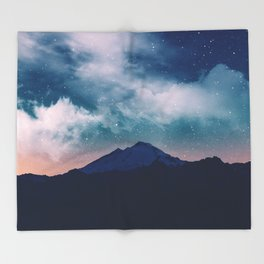 Magic night Throw Blanket