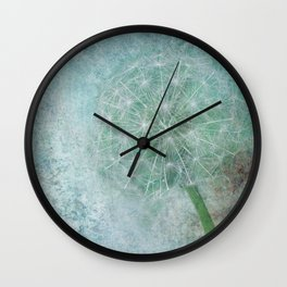 Delicate and Blue  Wall Clock
