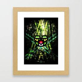 Hypno Toad Framed Art Print