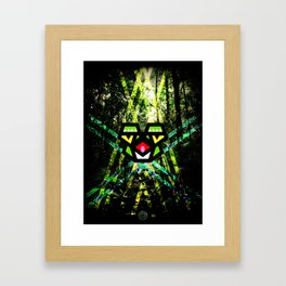Hypno Toad Framed Art Print