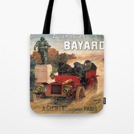 Vintage poster - Automobiles Bayard Tote Bag