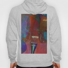 Violin Abstract Two Hoody