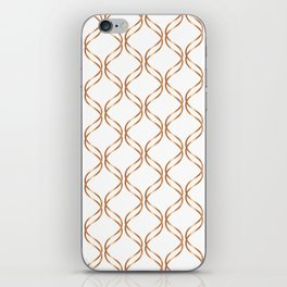 Double Helix - Rose Gold #676 iPhone Skin