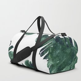 Banana Leaf Watercolor #society6 #buy #decor Duffle Bag