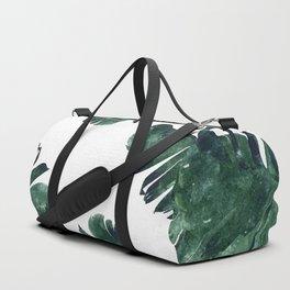 Banana Leaf Watercolor #society6 #buy #decor Duffle Bag