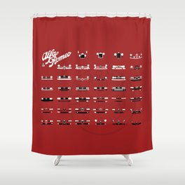 Alfa Family Shower Curtain