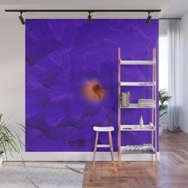 Sword Lily Purple Kaleidoscope Wall Mural