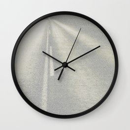 On The Road (The Complete Book) Wall Clock