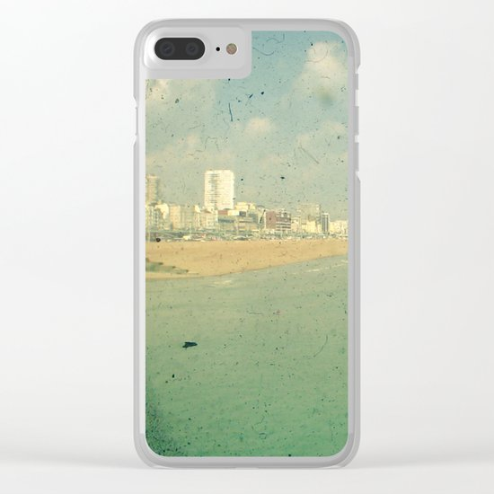 City by the Sea Clear iPhone Case