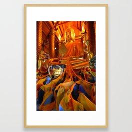 Wat Phanan Choeng (Thailand) Framed Art Print