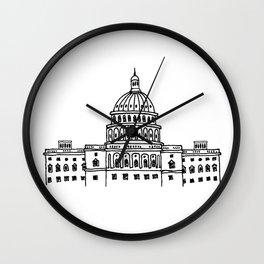 Around the World - Washington DC Wall Clock