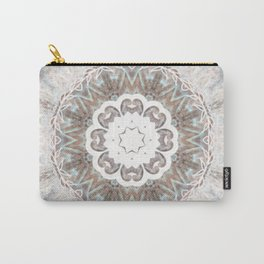 Marble Effect Mandala Carry-All Pouch