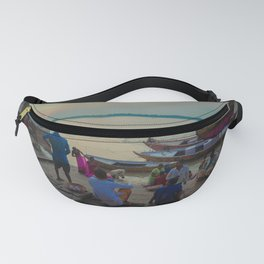 Life in the Ganges River Fanny Pack