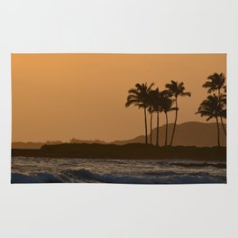 Sunset in Kauai Rug