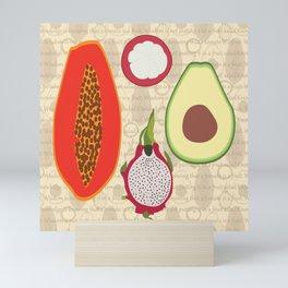 Fruit salad Mini Art Print