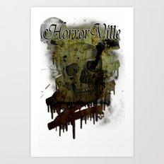 Skulldrip Art Print