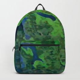 Green Blood by FreddiJr Backpack