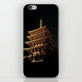 Buddhist Temple iPhone Skin