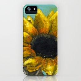Ithaca Sunflower iPhone Case