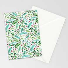 Christmas Florals Stationery Cards
