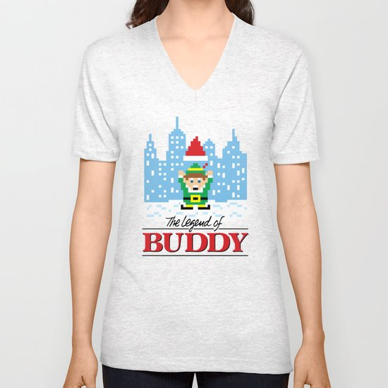 The Legend of Buddy Unisex V-Neck