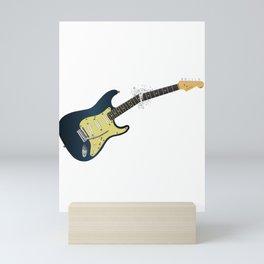 Clean Guitar Neck Break Mini Art Print