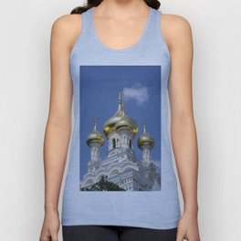 Onion Domes Alexander Nevsky Cathedral Unisex Tank Top
