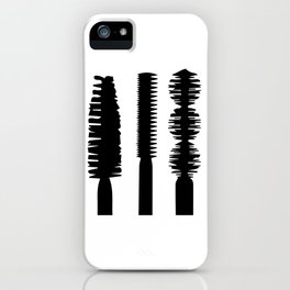 Mascara iPhone Case