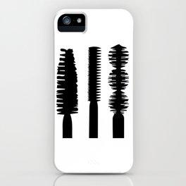 Mascara iPhone Case