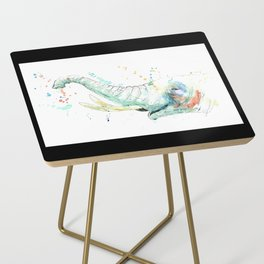 Splashy Elephant Side Table