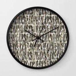 tie-dye texture-earth Wall Clock